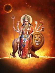 Maa Adi ParaShakti as Maa Durga